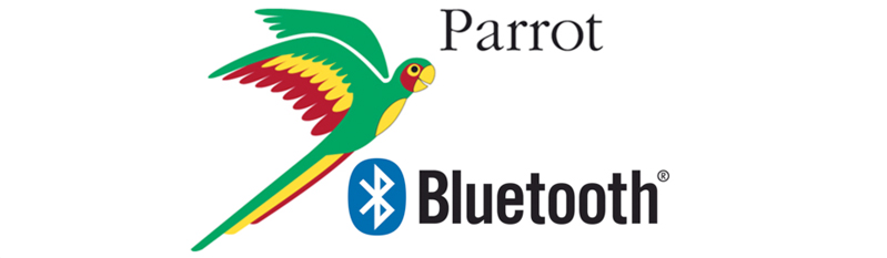 Image result for parrot bluetooth logo